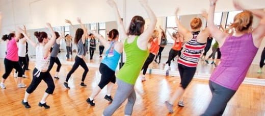 Dance helps to burn calories and fats