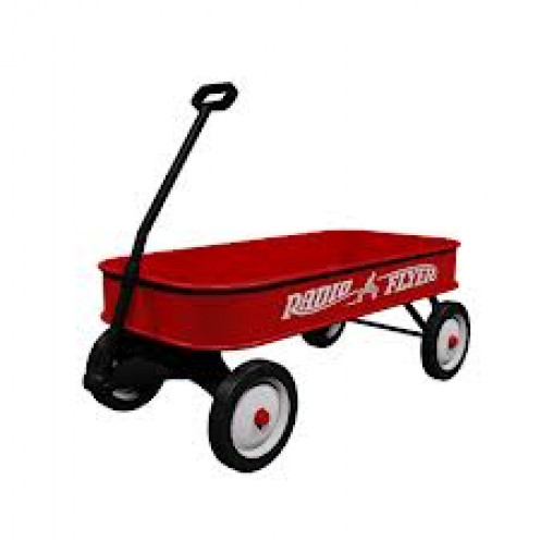 Radio Flyer wagons have been a must have for over 90 years strong. Older wagons in great condition are valuable to collectors.