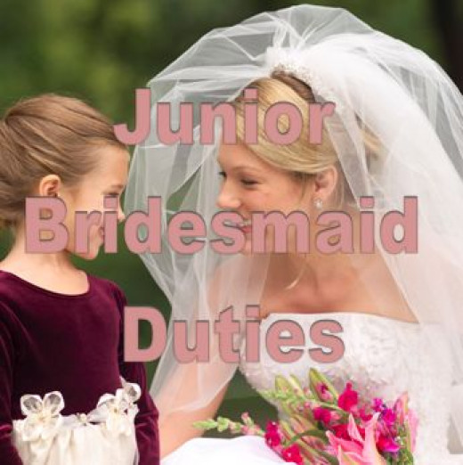 Duties Of A Junior Bridesmaid
