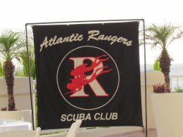 Atlantic Rangers Scuba Club which my husband Walker, is a part of was welcomed by Cozumel Palace with a private reception.