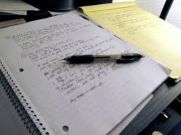 Write down thoughts, words and ideas for your song. They can be in any order for now.