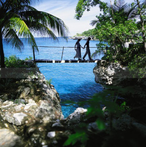 Jamaica has lush landscapes and scenery.
