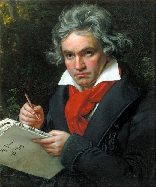 Portrait of Beethoven, 1820