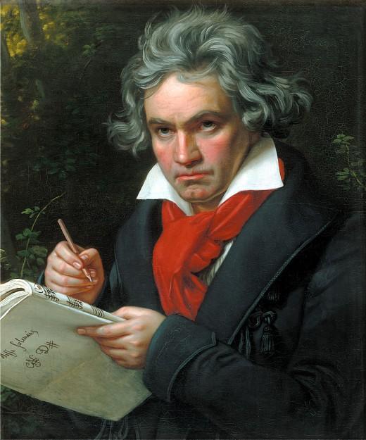 Portrait of Beethoven, 1820