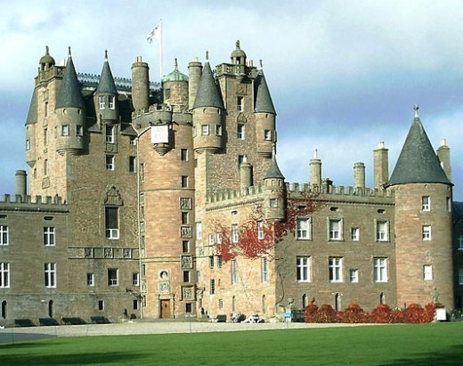 Glamis castle has many ghosts and scary legends.