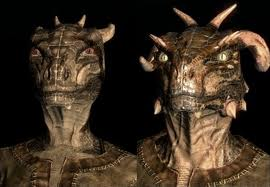 The Argonian race.