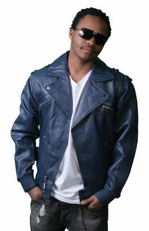 Blue Leather Jacket Blue Leather Jackets For Men