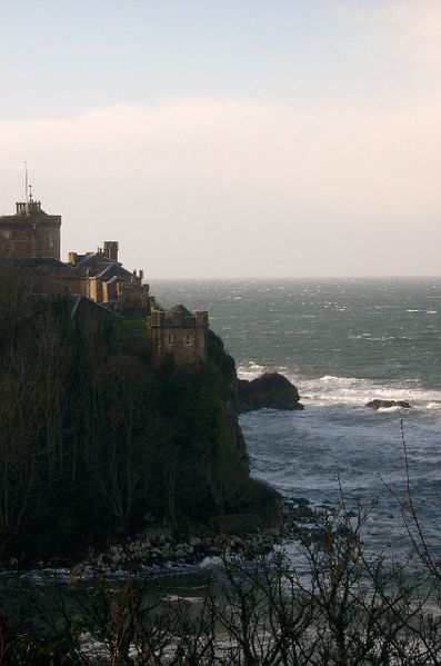 The haunting and very 'haunted' Culzean Castle in Scotland