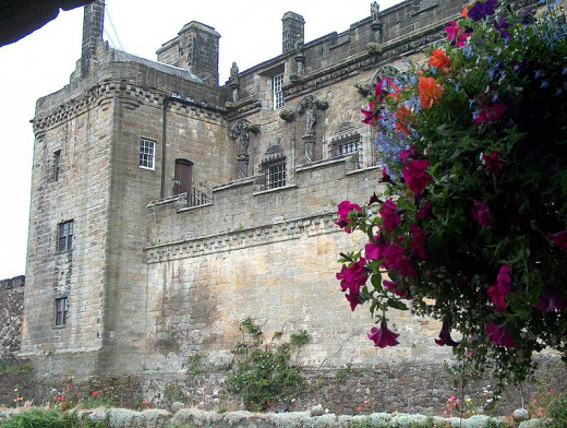Stirling Castle has hundreds of years of history, legends and ghosts!