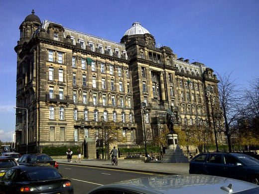 Glasgow Royal Infirmary is only one of many haunted locations in the city of Glasgow.