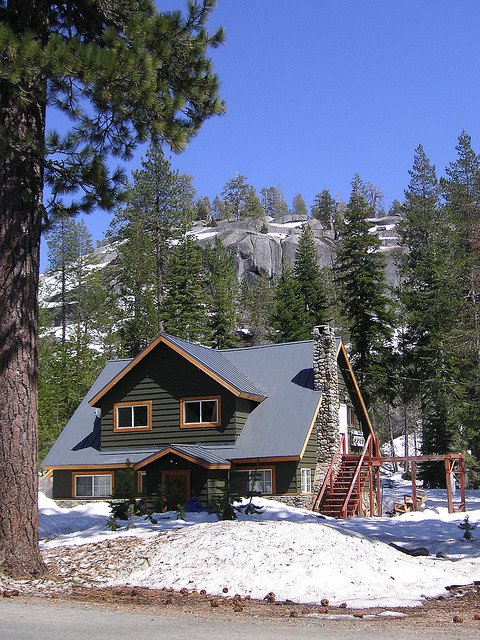 A secluded mountain cabin is the perfect destination for a family vacation for some people.