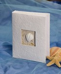 seashell photo album, favor favor