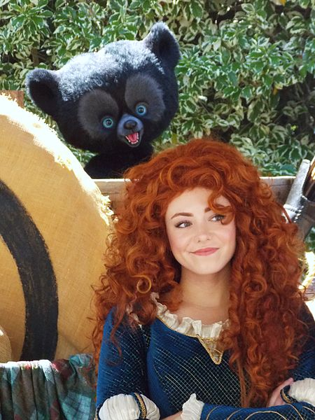 Did Princess Merida need a glam make-over?
