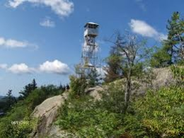 The Rondaxe Fire Tower at the peak gives you an even better view.