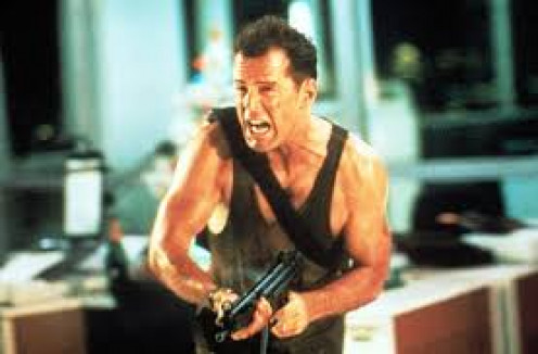 Bruce Willis stars in Die Hard which has produced multiple sequels and even video games, just from his roles in the films.