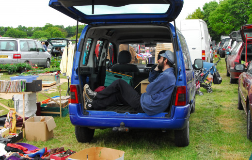 Not for sale. The Car Boot! Taking It Quite Literally!