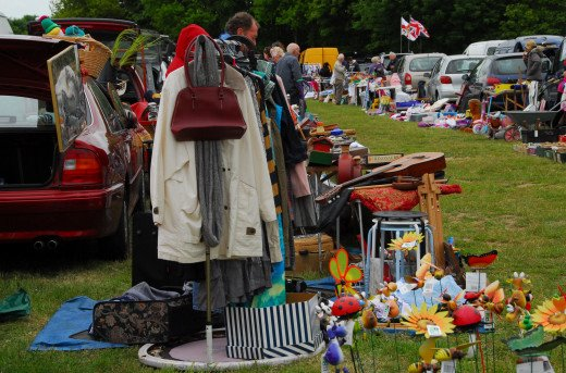The late one car boot sale, Aylsham