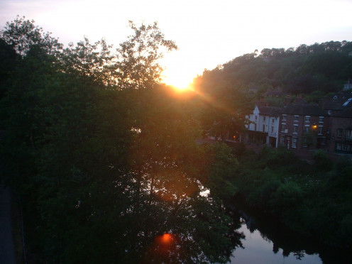 Mid-summer in the Ironbridge Gorge