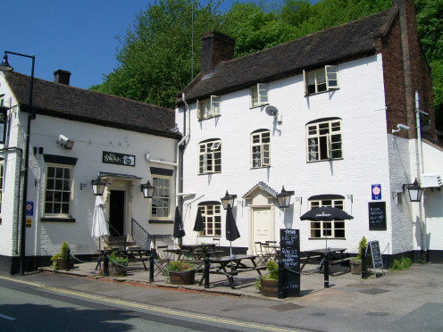 The Swan Pub and B&B, Ironbridge