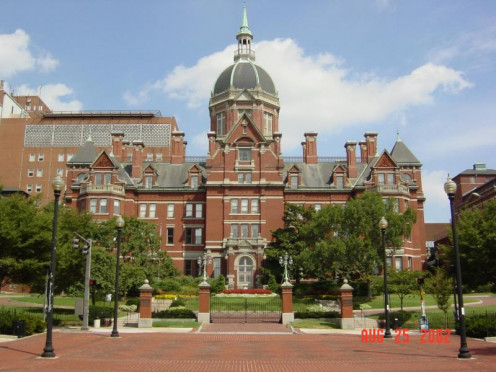 Johns Hopkins Hospital. The University and Hospital offer a number of programs to talented youth of high shcool age.