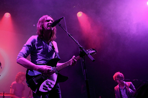 Tame Impala Performing in NYC.