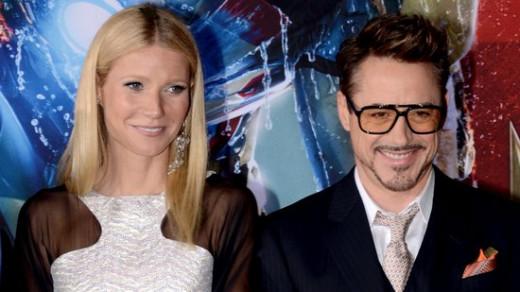Gwyneth Paltrow and Robert Downey, JR.