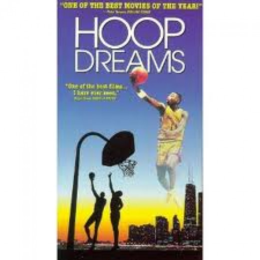 Hoop Dreams deals with life's struggles on the way to the top. This film shows what many inner city youth go through while trying to fulfill their dreams whether on the court or not.