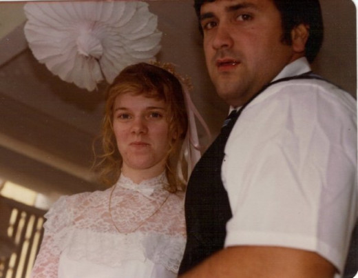 Our Wedding Day, March 27, 1982