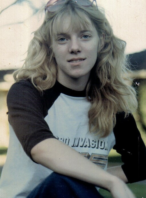 Carly in the summer of 1980