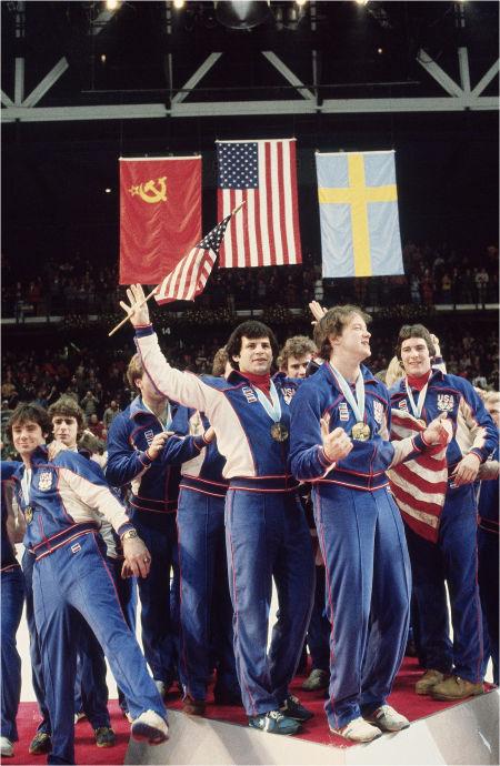 U.S. celebrates with gold