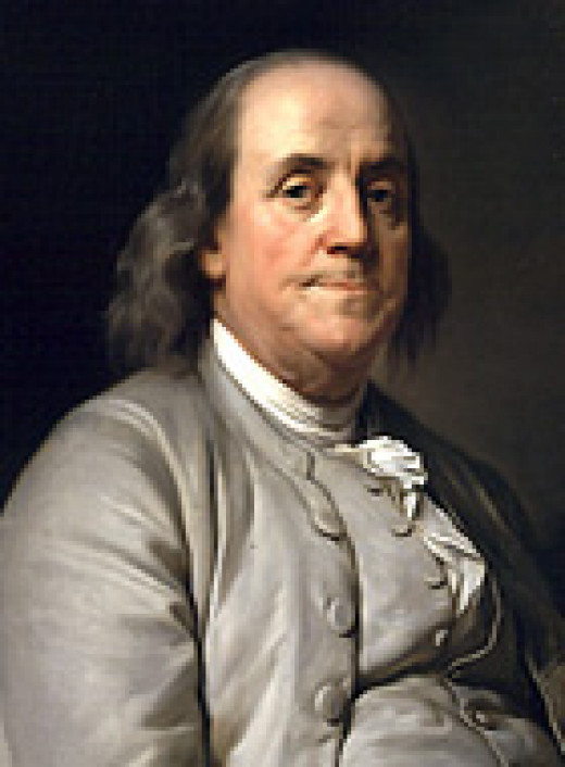 A Portrait of Benjamin Franklin by Joseph Sifferin Duplessis (circa 1785)