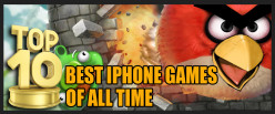 Top 10 Best IPhone games of all time