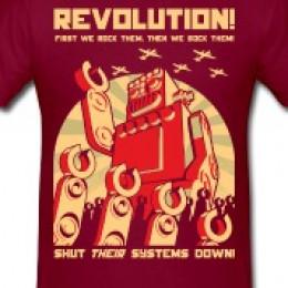 Robot Revolution T-shirt