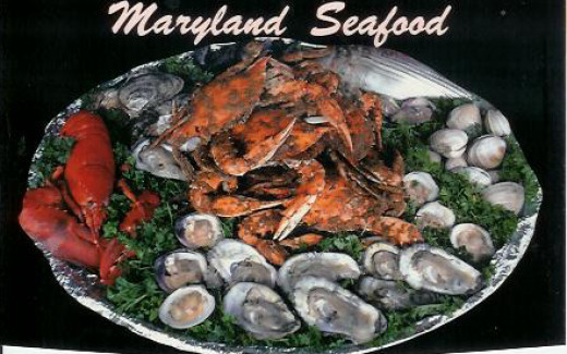 any seafood from Maryland will do