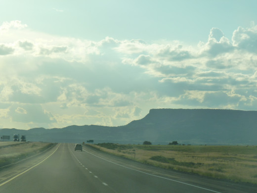 Open road in Arizona