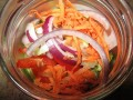 Salads in a Jar – Healthy, money saving, make ahead lunches for at home or on the go.