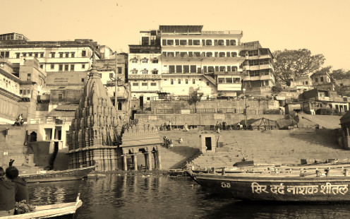 Scindia Ghat.  This sank during a particularly heavy monsoon