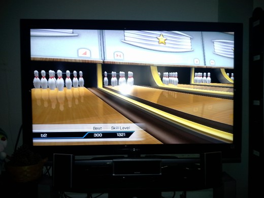wii bowling perfect game