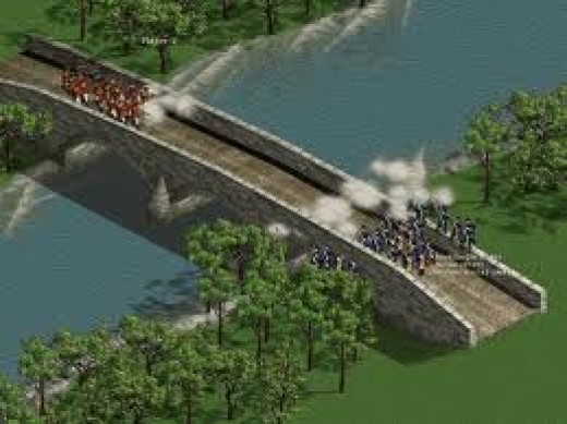 American Conquest Divided Nation was released in 2003. The graphics and soundtrack are outstanding.