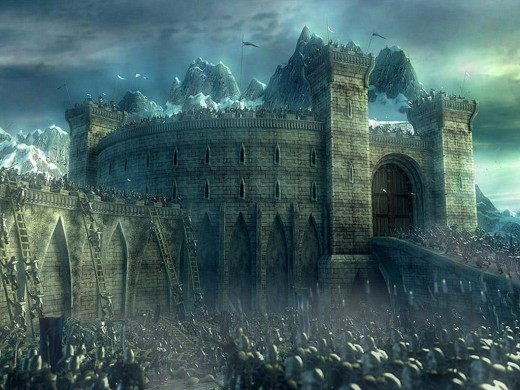 Fictional battle of Helms Deep