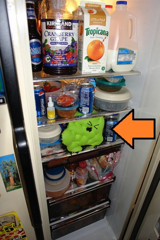 how to clean lg fridge shelves