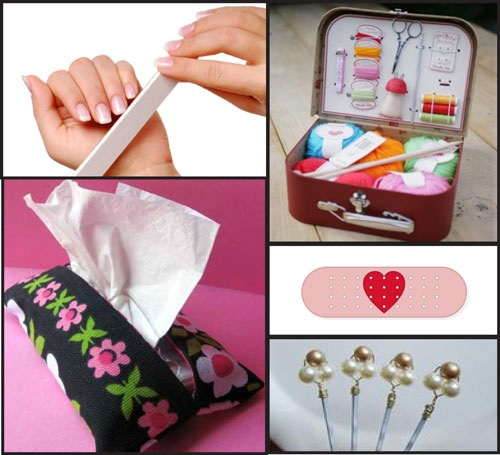 Wedding Day Emergency Kit Ideas