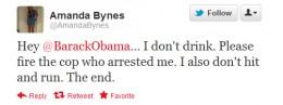 Tweet to president