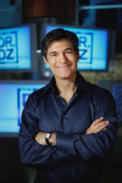 Does Dr. Oz Promote and Follow a Raw Plant-Based (Vegan) Diet?