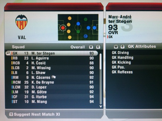 valencia career mode year 2022 I have sold and bought a lot of players half of  my team comprises of the youth team players