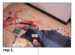 Italian police crime scene Meredith Kercher Murder