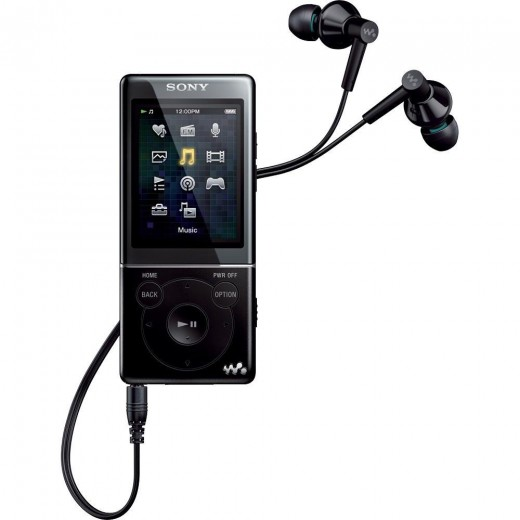 Sony NWZ-E474BLK 8 GB Walkman A/V Player