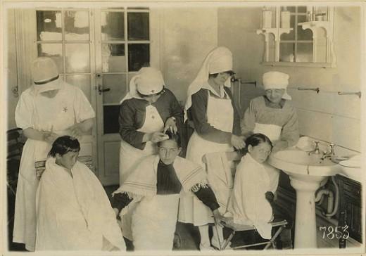 Nit nurses (head lice)