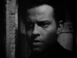 A young Orson Welles as Rochester in the 1943 film version of Jane Eyre.