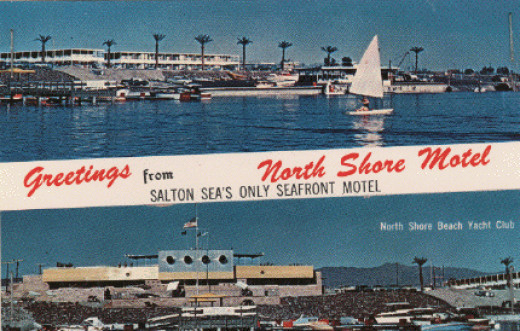 The Salton Sea in its glory days.